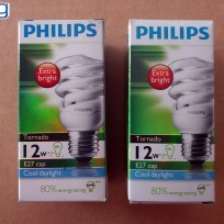 Philips Lampu Tornado 12 Watt